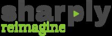 Sharply Reimagine Black logo221